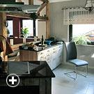 Rollstuhlgerechter Wohn- und Küchenbereich