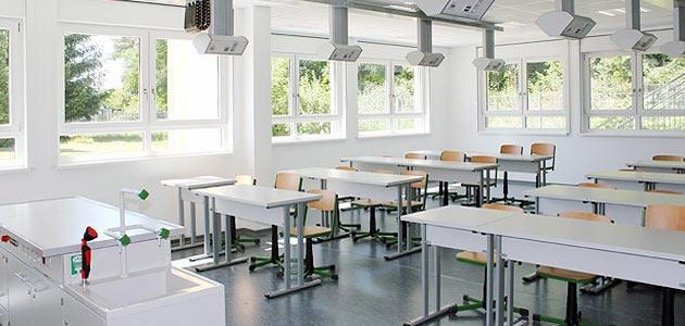 Gutenberg-Oberschule Neu Zittau, Fachkabinett
