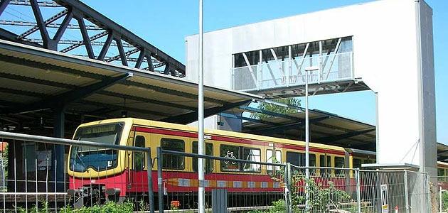 Peoplemover S-Bahnhof Rummelsburg