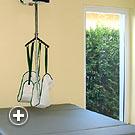 Deckenlifter und Therapieliege