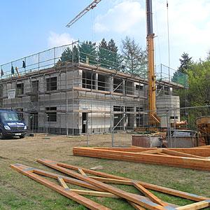 Bauleitung Baustelle Gerüst