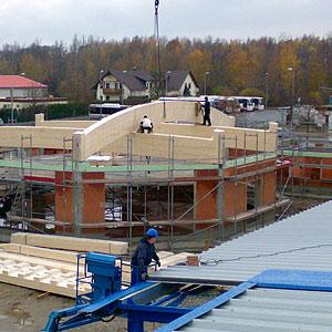 Bauüberwachung Baustelle Kran