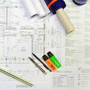 Planung Bauplan Architekt